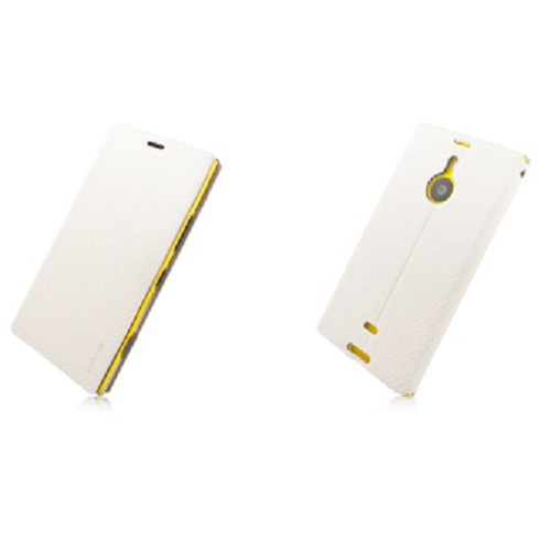 CAPDASE Folder Case For Nokia Lumia 1520 [FCNK1520-SB20] - White (Merchant) - Casing Handphone / Case